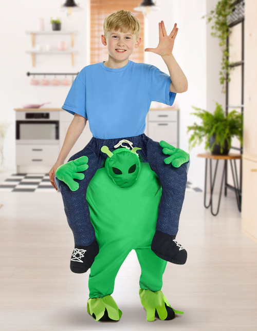 Alien Piggyback Costume
