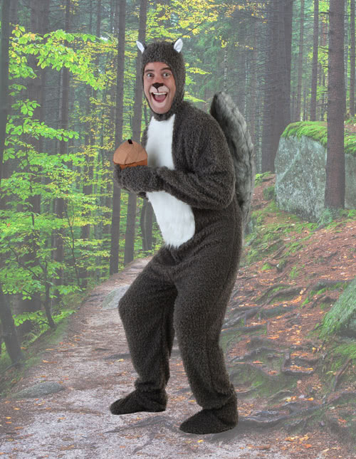 Men's Squirrel Costume