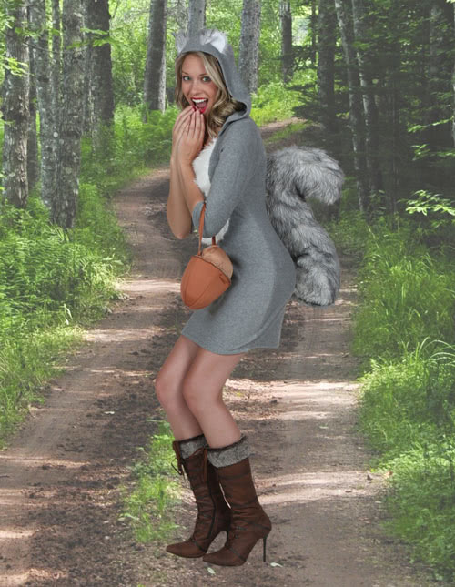 Women's Squirrel Costume