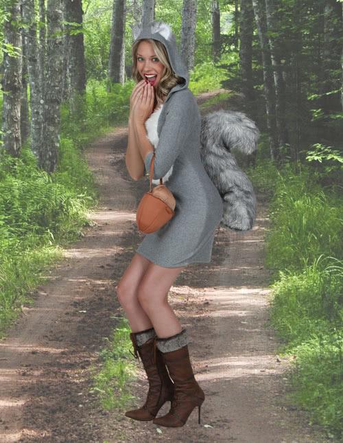 Women's Squirrel Costume