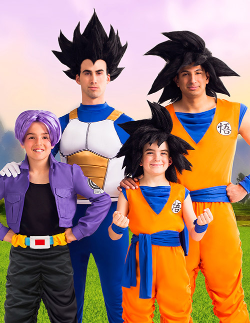 Dragon Ball Z Wigs