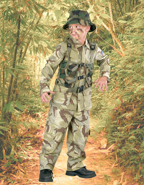 Army Costume for Boys