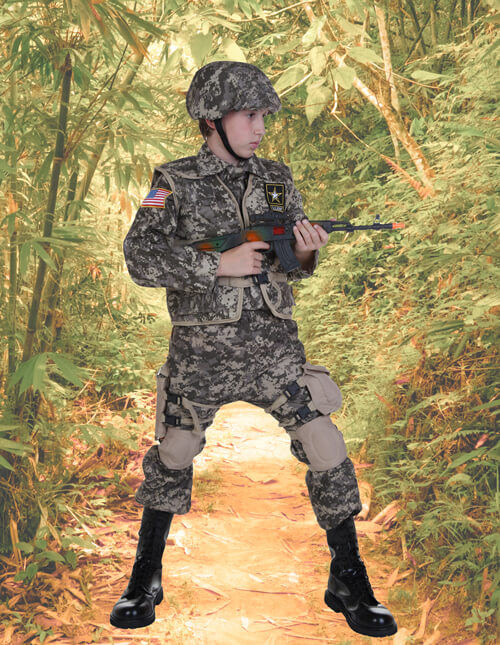 a649996ee72 Army Costumes   Camo Soldier Costumes - HalloweenCostumes.com