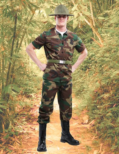 Military Drill Sergeant Costume
