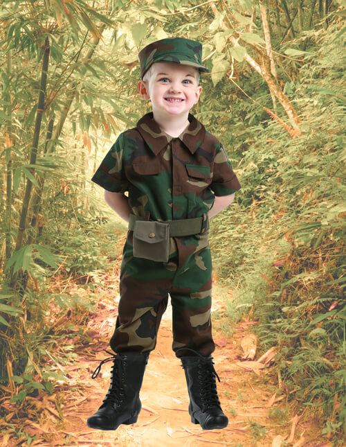 Toddler Military Costume