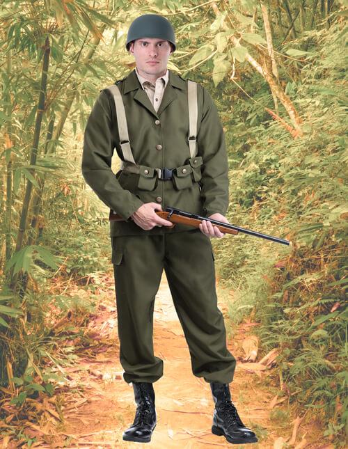 Vintage Army Costume