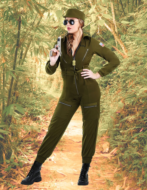 Women's Army Outfit