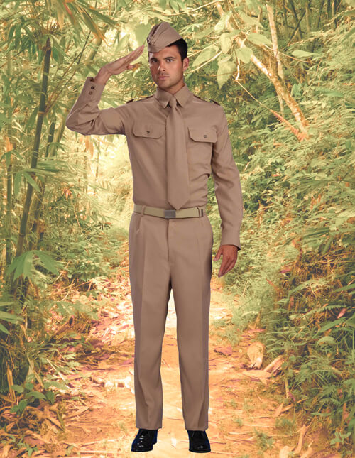WWII Army Costume
