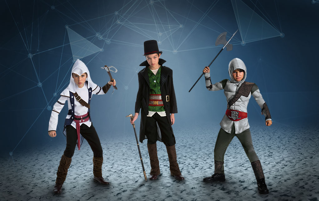 Boys Assassin's Creed Costumes