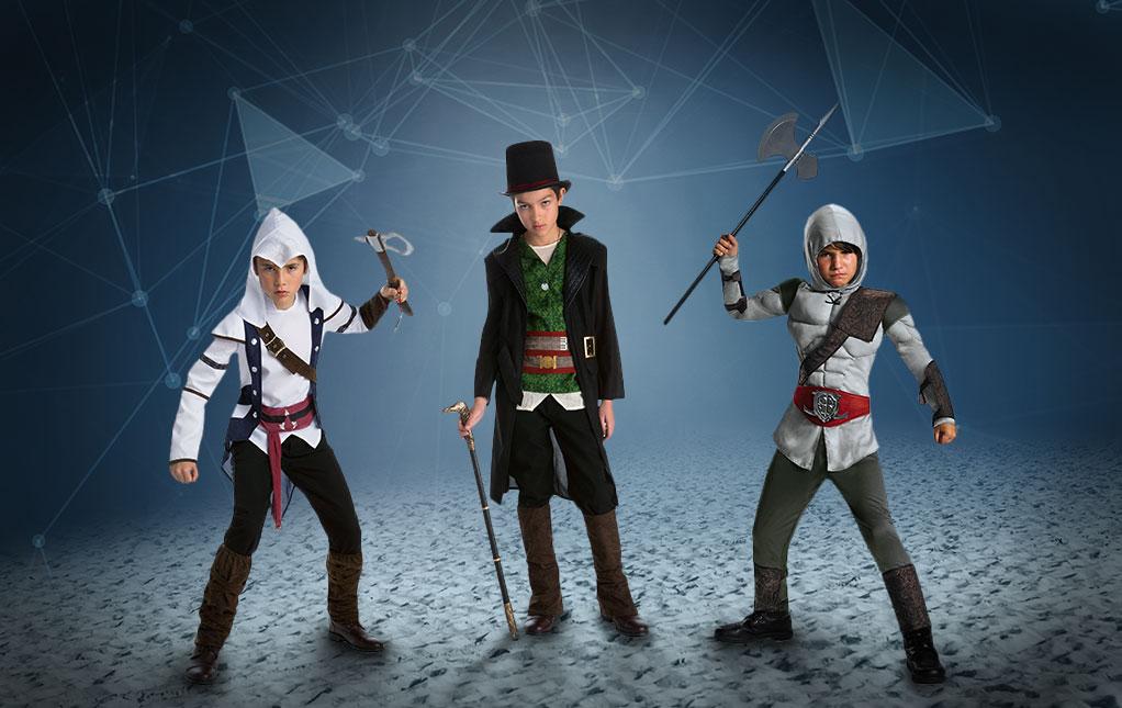 Assassins Creed Unity Inspired Boys Girls Kids Gamer Hoodie