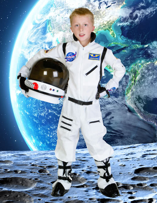 UNDERWRAPS NASA Orange Astronaut Suit Kids Costume. Sold by BlockBuster Costumes. add to compare compare now. $ $ Aeromax Jr. Astronaut Suit with Embroidered Cap and NASA patches, WHITE, Size 12/ Sold by ErgodE. add to compare compare now. $ $