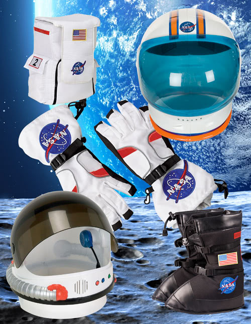 Astronaut Helmets and Accessories