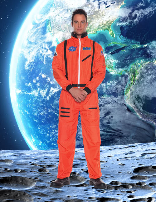 Orange Astronaut Outfit