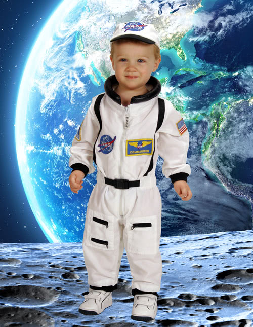 Toddler Astronaut Costume