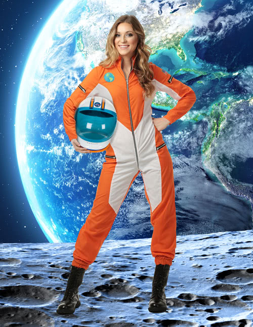 Womens Astronaut Costume  sc 1 st  Halloween Costumes & Astronaut Costumes - Kids Adult Astronaut Halloween Costume