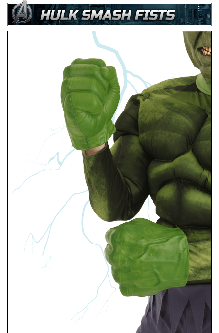 Hulk Smash Fists