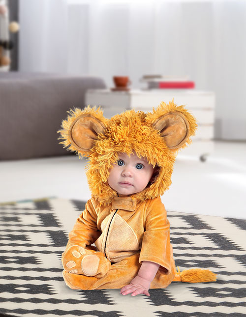Anne Geddes Baby Lion Costume