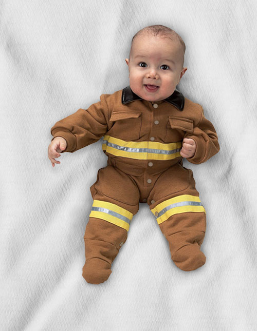 Baby Firefighter Costume