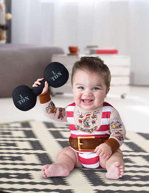 Baby Strongman Costume