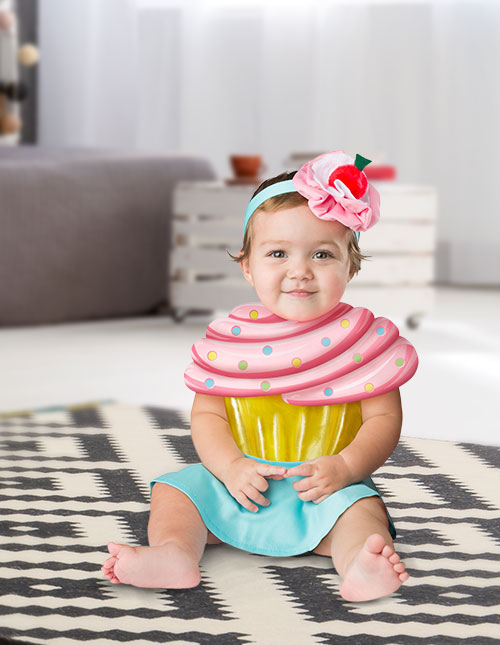 Infant Cupcake Costume