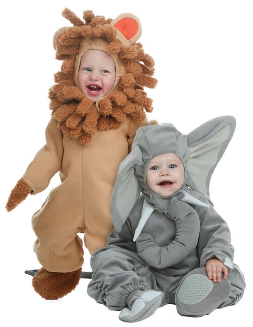 Lion and Elephant Costumes