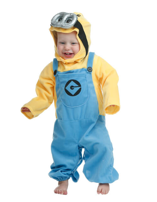 Minion Costume  sc 1 st  Halloween Costumes & Newborn u0026 Baby Halloween Costumes