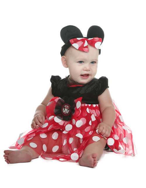Minnie Mouse Costume  sc 1 st  Halloween Costumes & Newborn u0026 Baby Halloween Costumes