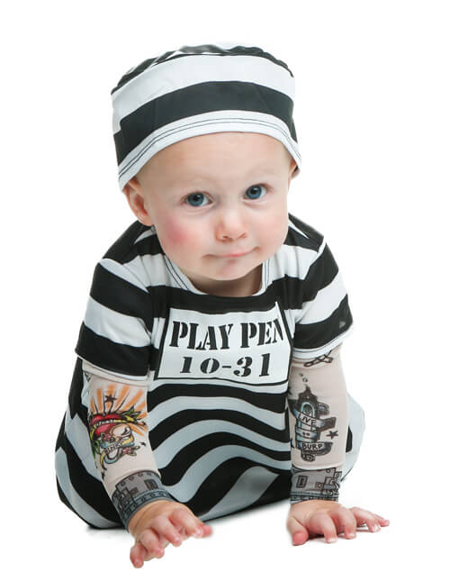 Prisoner Costume  sc 1 st  Halloween Costumes & Newborn u0026 Baby Halloween Costumes
