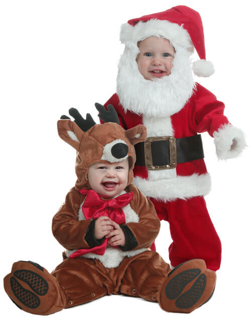 Reindeer and Santa Costumes
