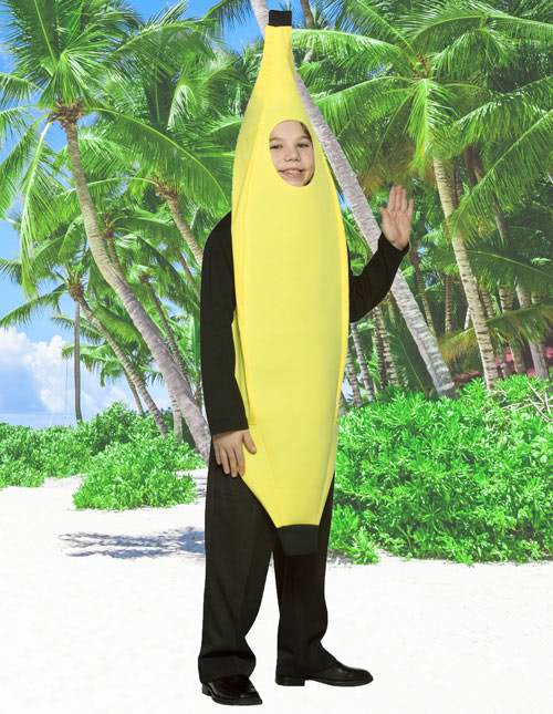 Kid's Banana Costume