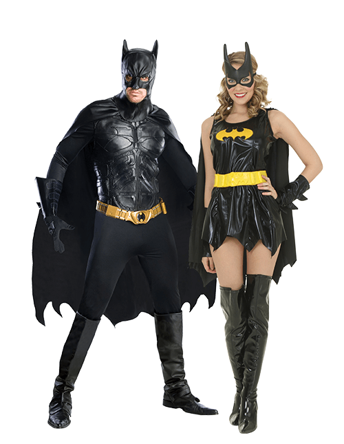 Batman and Batgirl Couples Costumes
