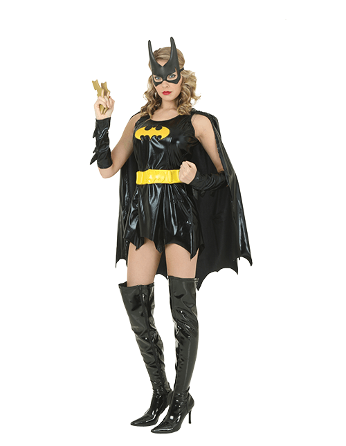 Batgirl Batarangs Aren't Just For Boys Pose