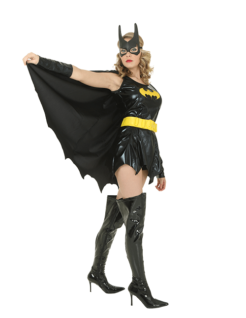 Batgirl Super Cape Pose  sc 1 st  Halloween Costumes : batgirl costume adult  - Germanpascual.Com