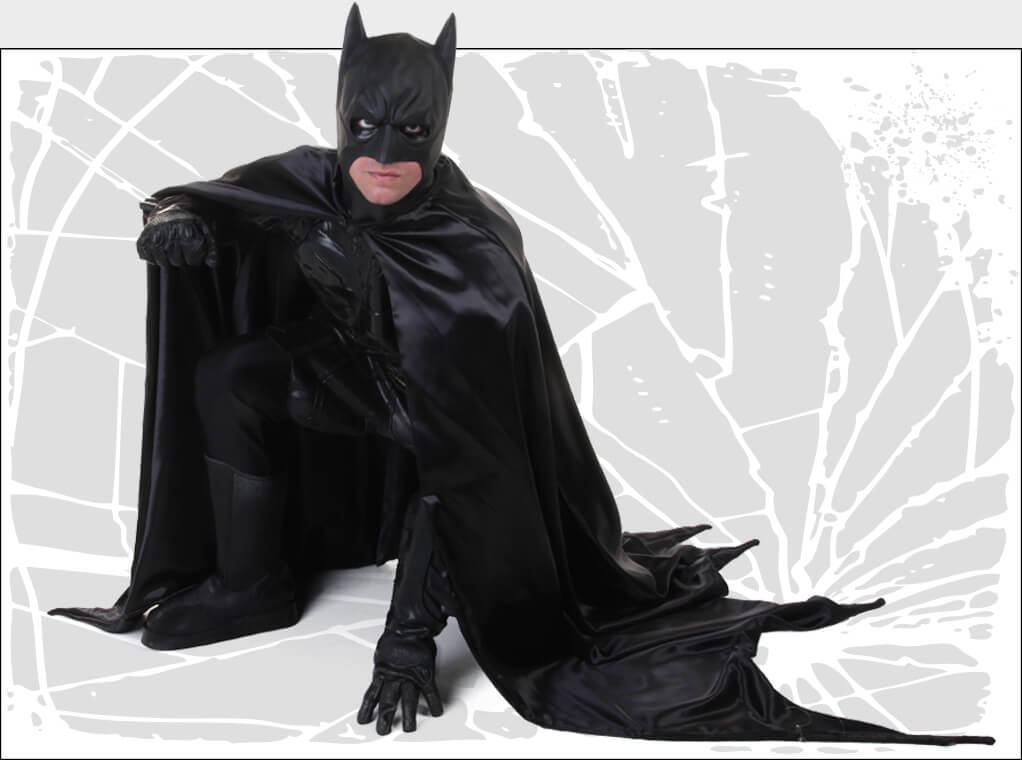 Dark Knight Strikes Batman Costume Pose