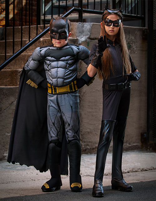 Batman and Catwoman Costumes