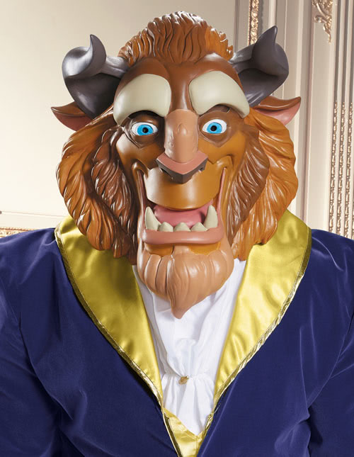 Beauty and the Beast Mask