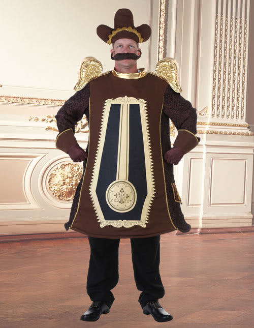 Cogsworth Costume