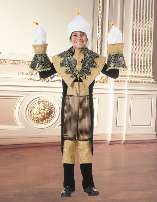 Beauty and the Beast Candle Costume