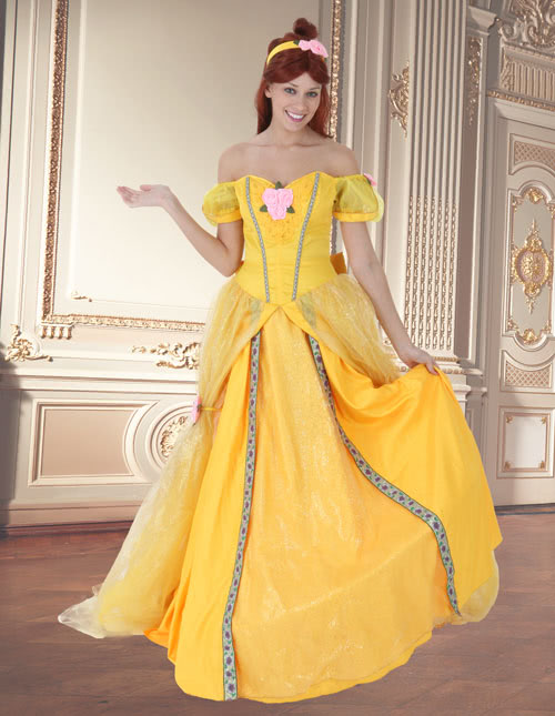 211a58a975fb Beauty and the Beast Costumes - Beast and Belle Costumes