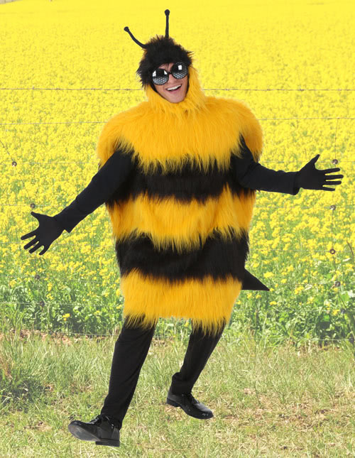 Fuzzy Bee Costume