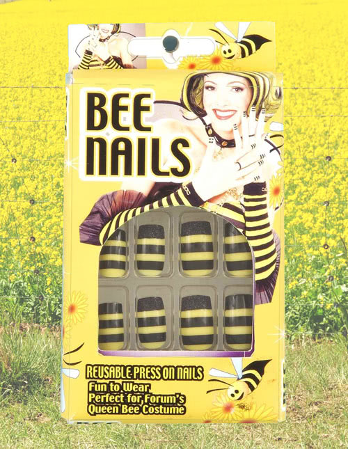 Queen Bee Costume Nails