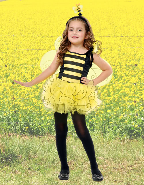 Girl Bumble Bee Costume