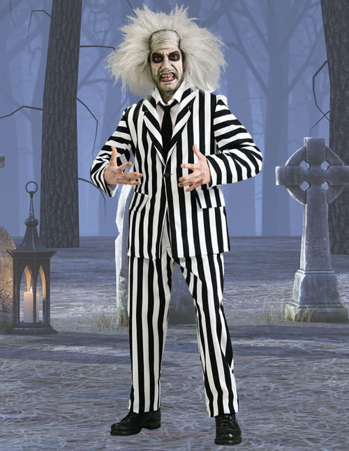 Beetlejuice Halloween Costume