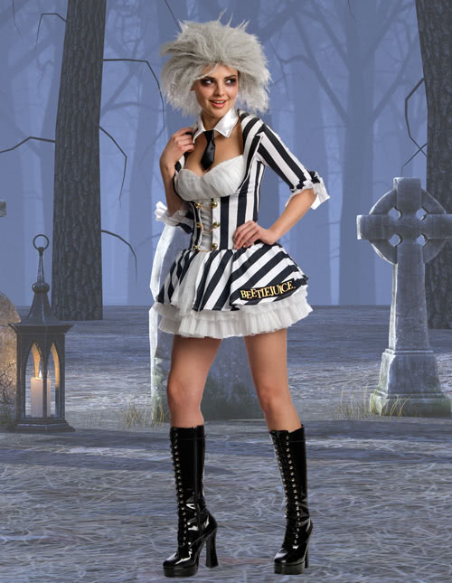 Sexy Beetlejuice Costume  sc 1 st  Halloween Costumes : beetlejuice couple halloween costumes  - Germanpascual.Com
