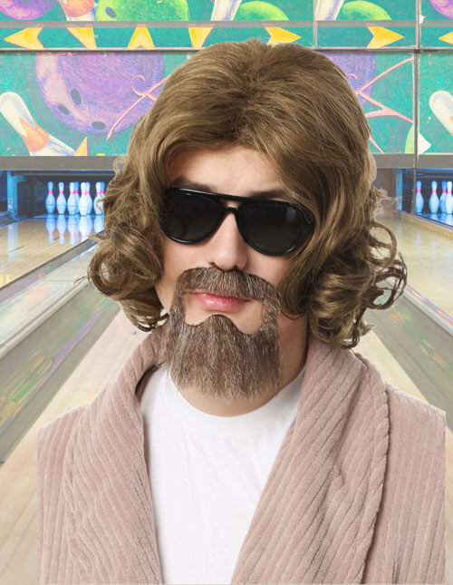 The Dude Wig and Beard