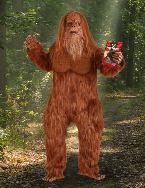 Jack Links Sasquatch Costume