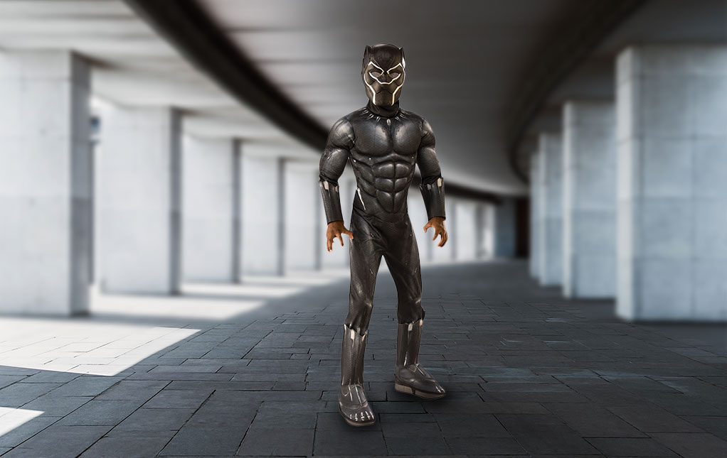 Boy's Black Panther Costume