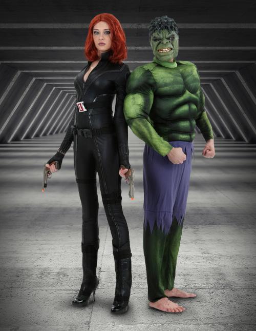 Black Widow and Hulk Cosplay
