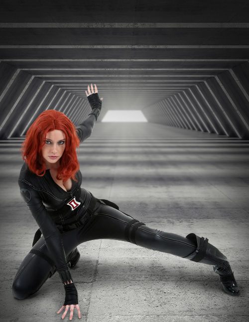 Black Widow Cosplay Costume