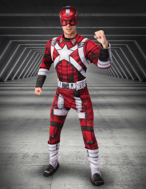 Red Guardian Costume